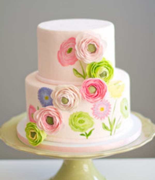 Multi-dimensional Sugarwork Cake Tutorial