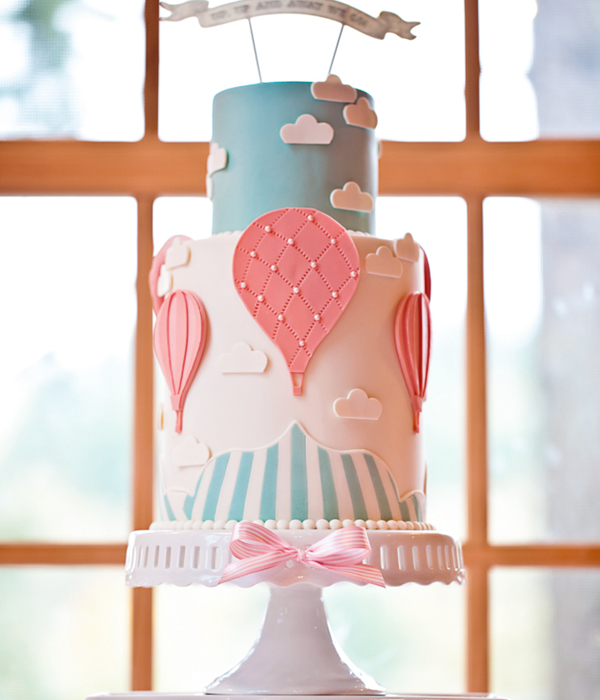 Sketch to Cake: Jessica Harris' Hot Air Balloon Cake