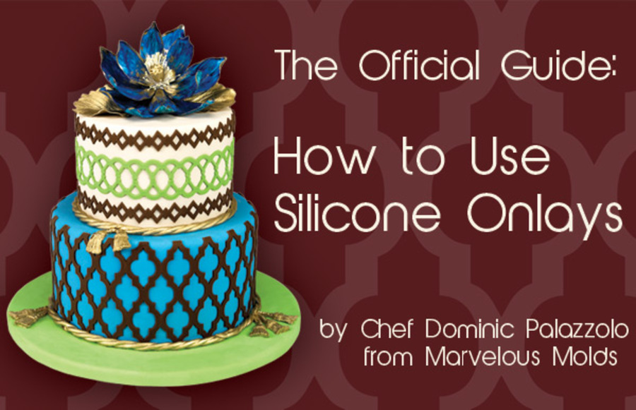 How To Use Cake Stencils On Ganache