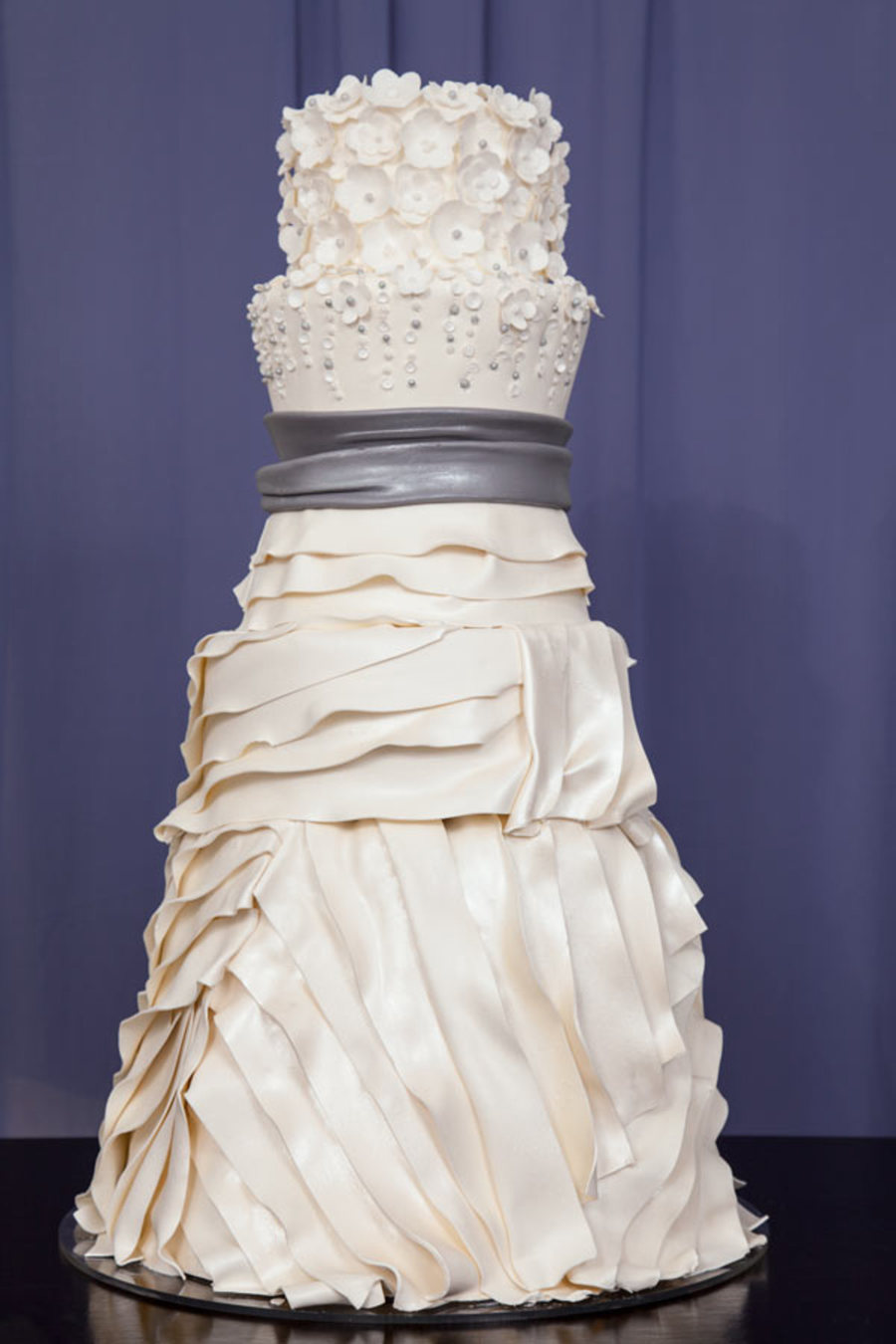 Beautiful Bridal Gown Inspired Wedding Cakes By You