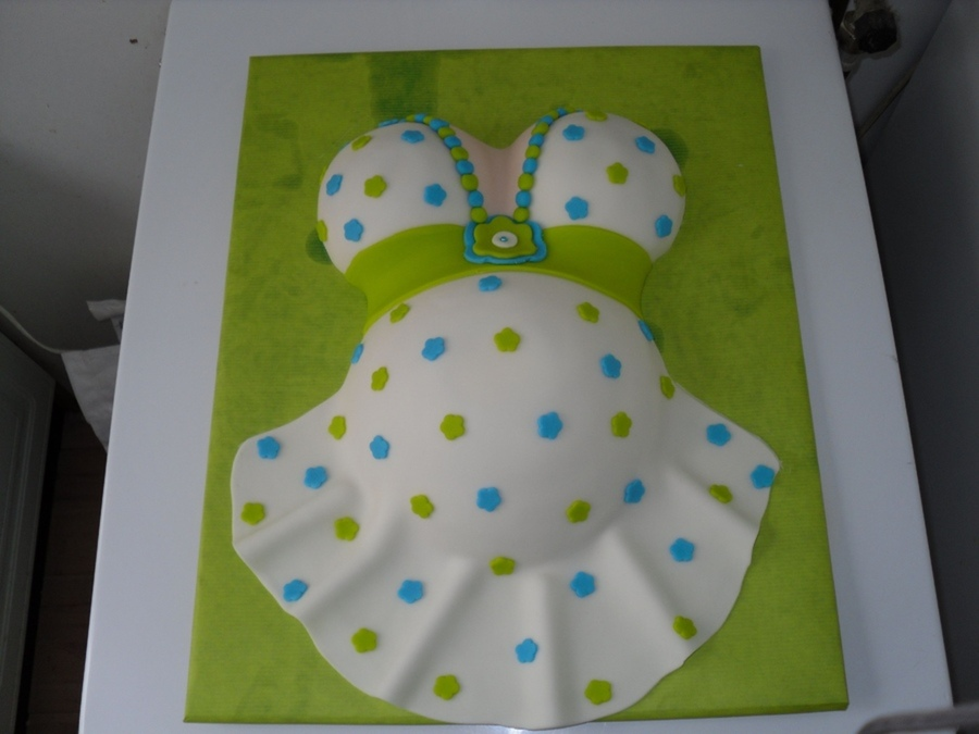 Lifelike Baby Shower Cakes