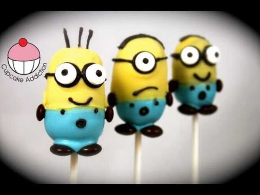 Images Of Minion Cake Pops :