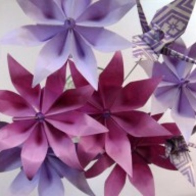 Origami Inspiration Challenge Reminder on Cake Central