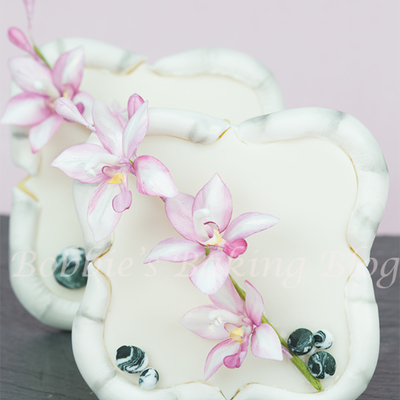 Gumpaste Orchid (Spathoglottis) Tutorial on Cake Central