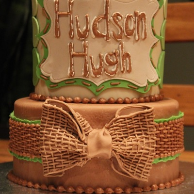 Fondant Burlap Bow Tutorial by Joshua John Russell on Cake Central