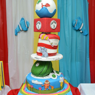 Friday Faves: Castles, Modern Colors and Dr. Seuss Characters on Cake Central