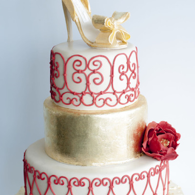 Sketch to Cake: Valentino Inspiration on Cake Central