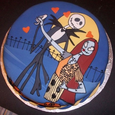 Top Tim Burton-Inspired Cakes on Cake Central