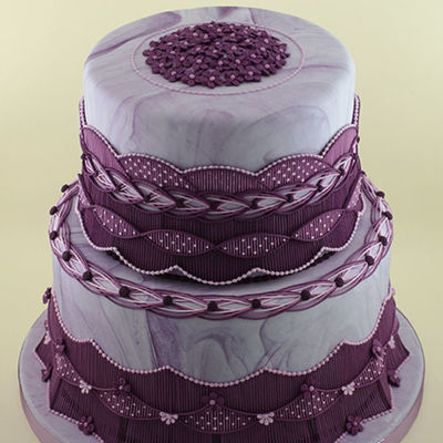 Top Stringwork Cakes on Cake Central