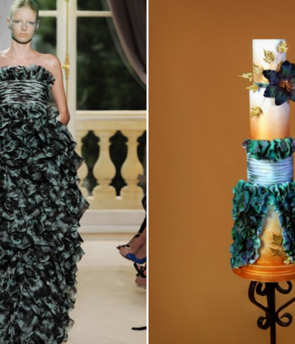 Top Fashion Issue Cakes: Editors' Picks