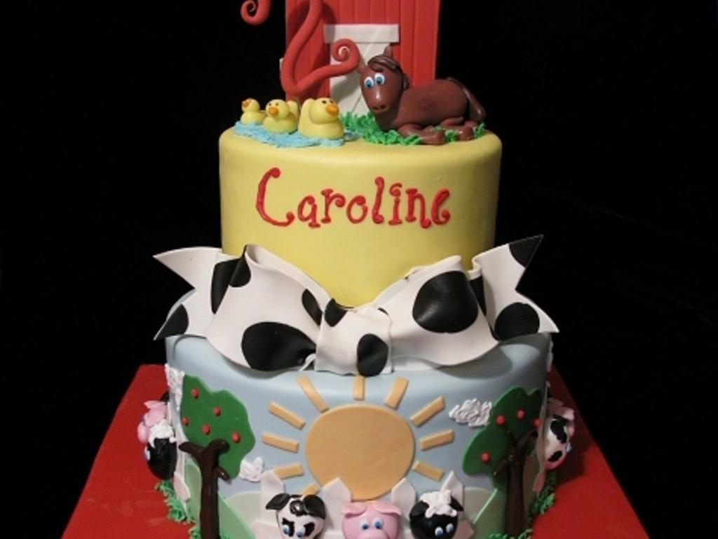 Top Farm Animal Cakes CakeCentralcom