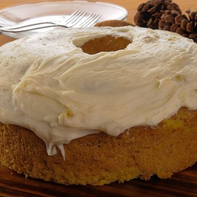 Pumpkin Buttermilk Cake and Cream Cheese Frosting Recipes on Cake Central