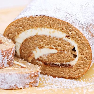 Pumpkin Roll Cake Recipe on Cake Central