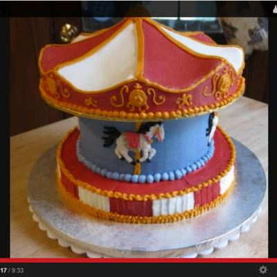 Carousel Cake Tutorial on Cake Central