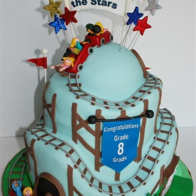 Top Roller Coaster Cakes on Cake Central