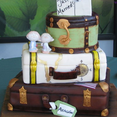 Top Luggage Cakes on Cake Central