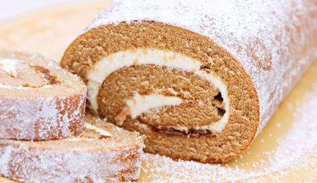 Pumpkin Roll Cake Recipe