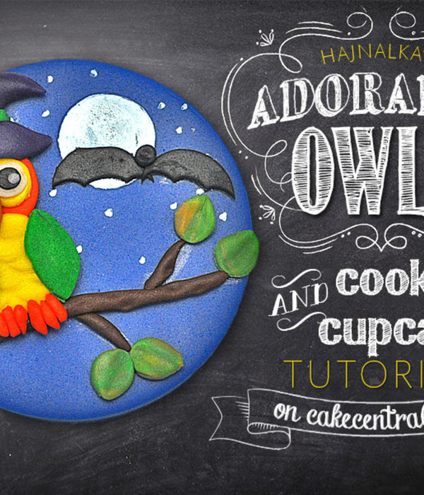 Owl Cupcake Topper Tutorial