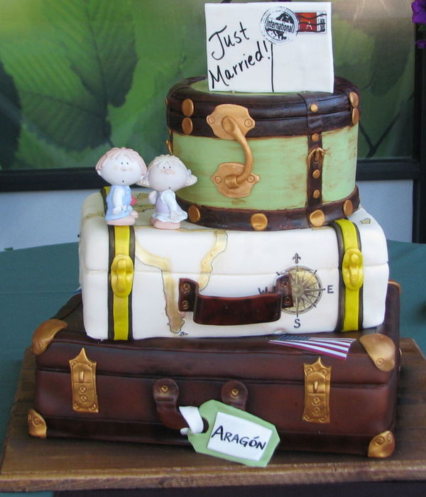 Top Luggage Cakes