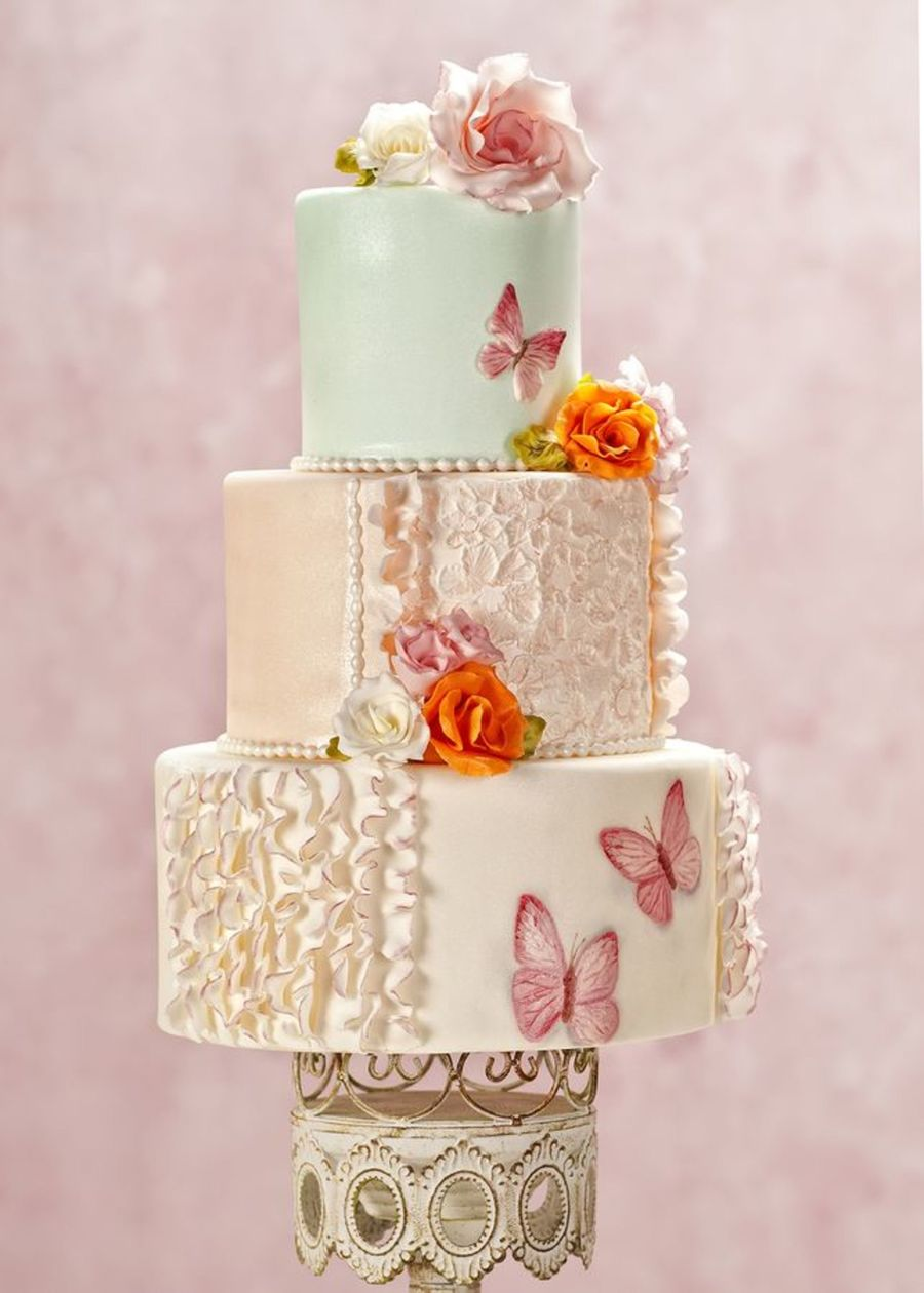 Top Butterfly Cakes Cakecentral Com