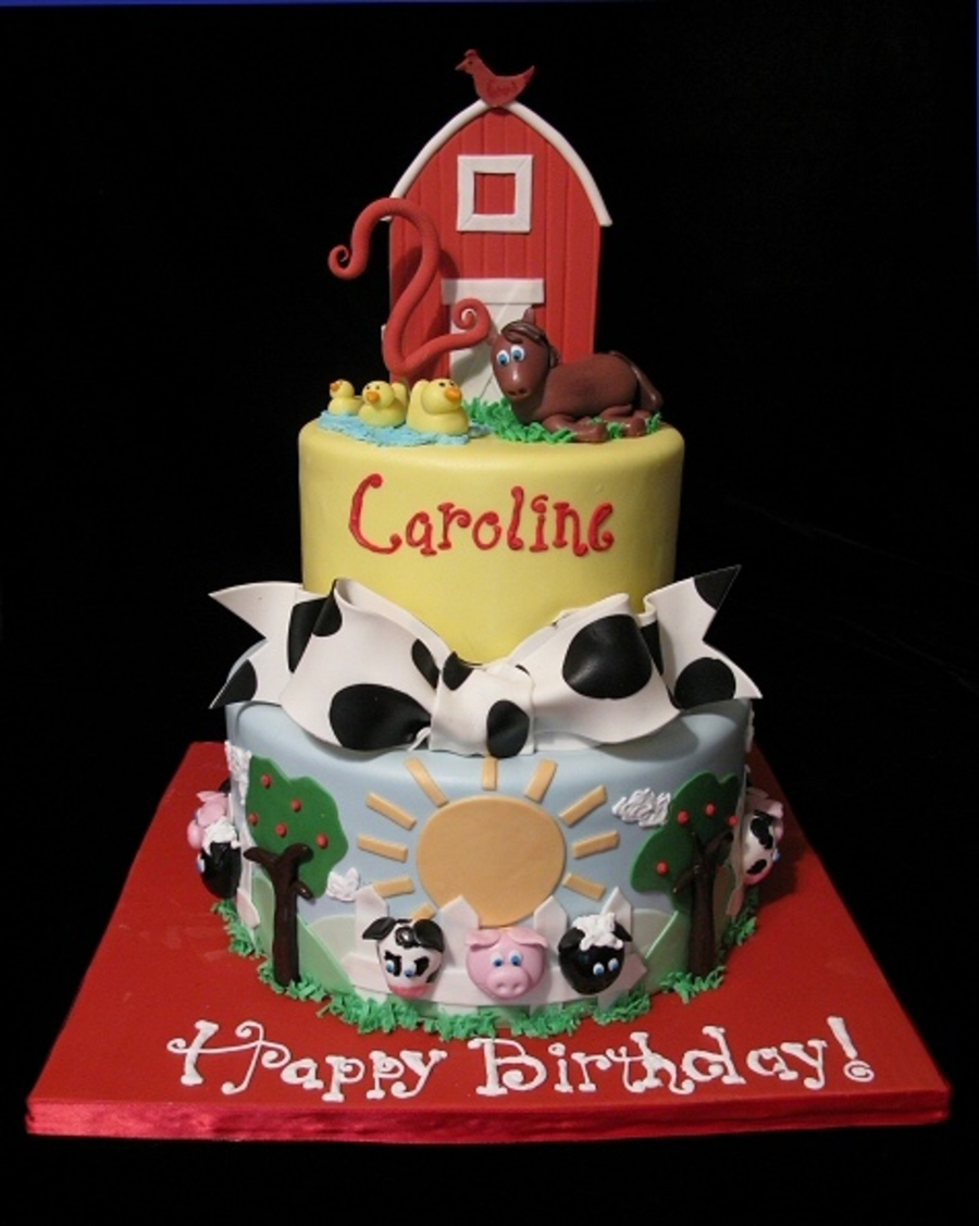 Cake Decorations Farm Animals : Top Farm Animal Cakes - CakeCentral.com