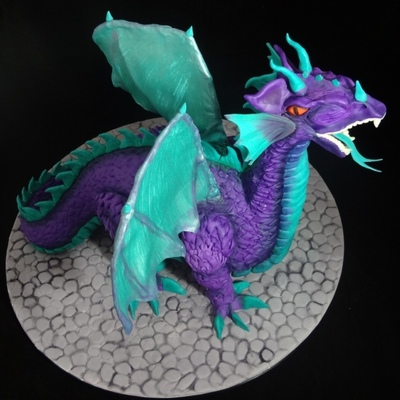 Top Sculpted Dragon Cakes on Cake Central