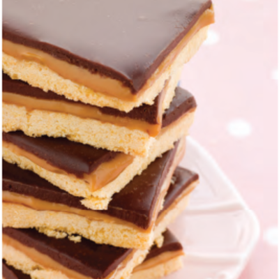 Recipe for Chocolate Caramel Shortbread Bars on Cake Central