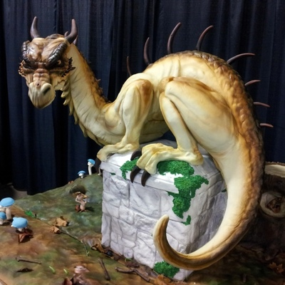 Top Sculpted Dragon Cakes Part II on Cake Central
