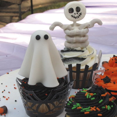 Easy Halloween Cupcake Decorations on Cake Central