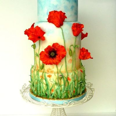 Friday Faves: Piping, Poppies and Secret Gardens on Cake Central