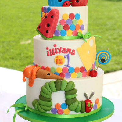 Top Eric Carle-Inspired Cakes on Cake Central