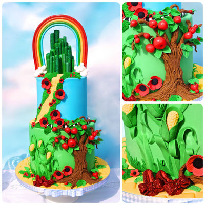Friday Faves: Wizard of Oz, Spooky Sweets & Lovely Lotus Flowers on Cake Central