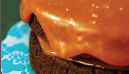 Recipes for Fabulously Sweet Pear Cake & Thick Caramel Sauce
