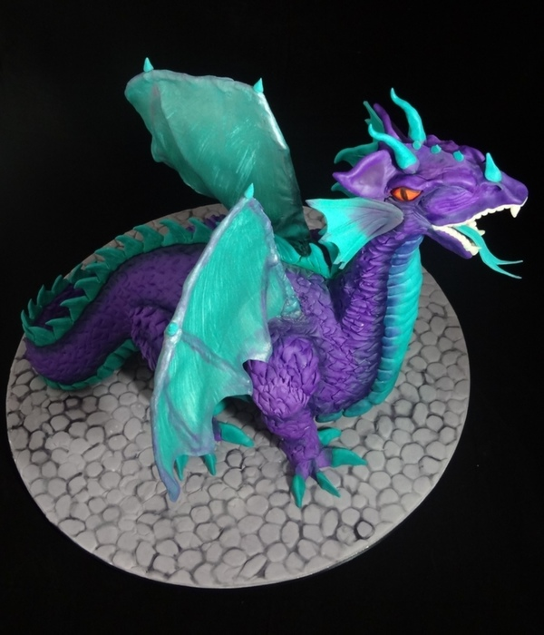 Top Sculpted Dragon Cakes