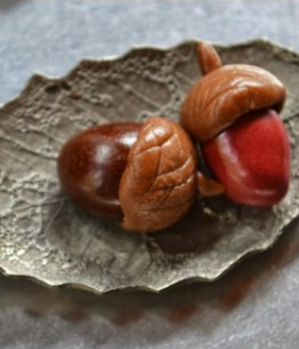 How to Make Chocolate Candy Acorns