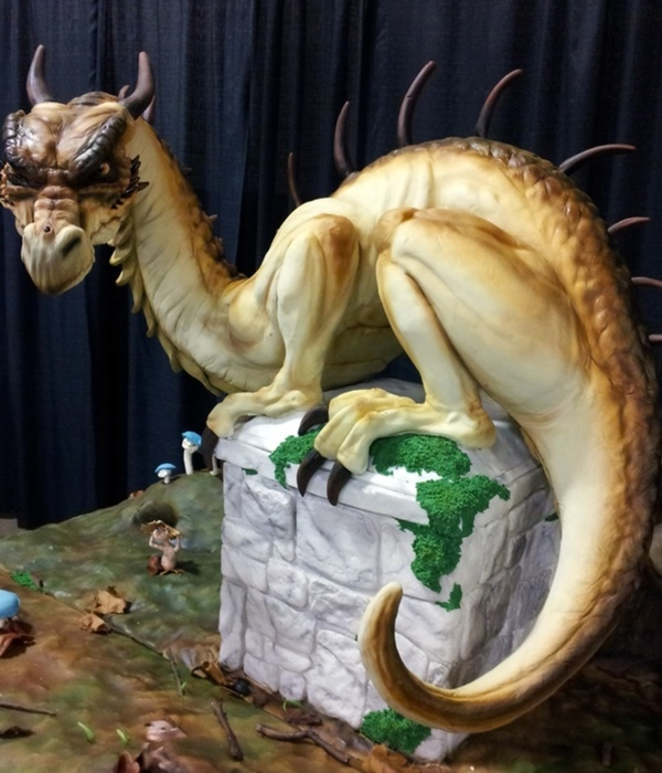 Top Sculpted Dragon Cakes Part II