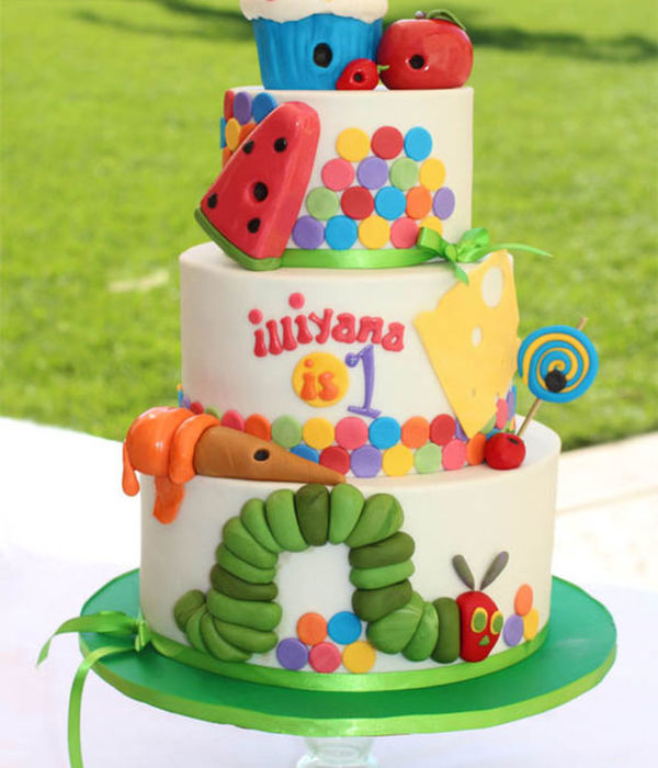 Top Eric Carle-Inspired Cakes
