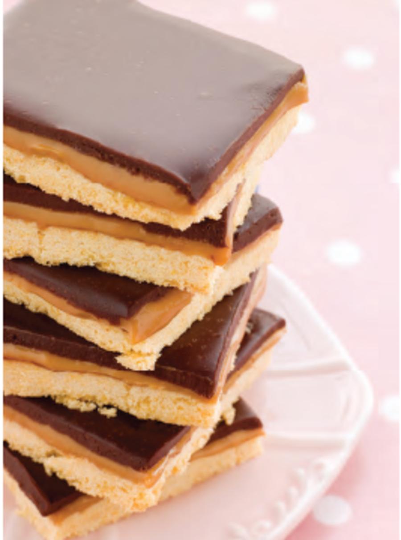 Recipe for Chocolate Caramel Shortbread Bars - CakeCentral.com
