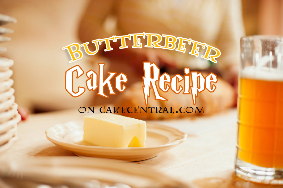 Recipe For Butterbeer Cake