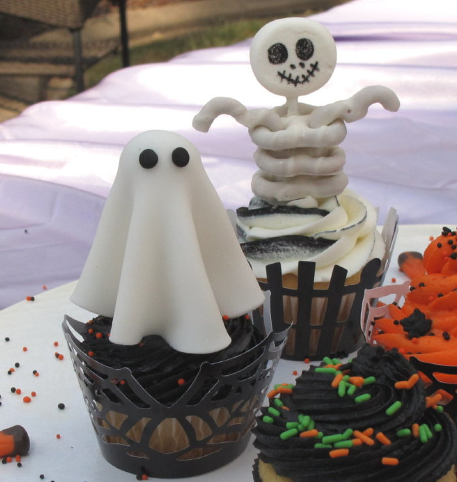 Easy halloween cupcake decorations - Halloween decorations for cupcakes ...