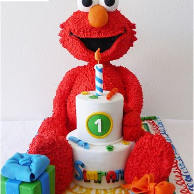 Top Sesame Street Cakes on Cake Central