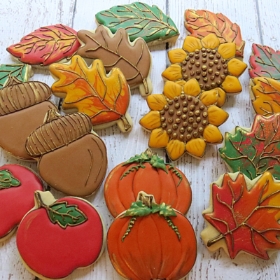 Autumn Cookie Tutorials on Cake Central