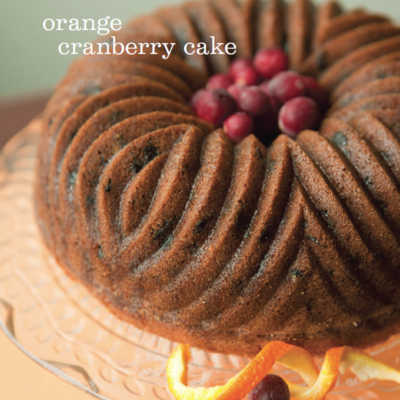 Orange Cranberry Cake Recipe on Cake Central