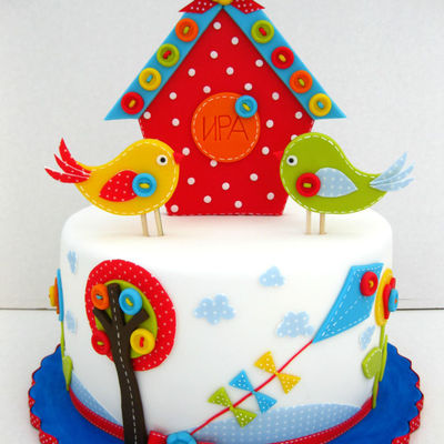 Top Birdhouse Cakes on Cake Central