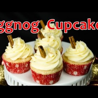 How to Make Eggnog Christmas Cupcakes on Cake Central
