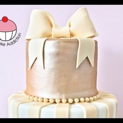 How to Make a Fondant Bow on Cake Central
