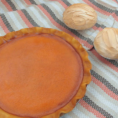 How to Make a Pumpkin Pie Cake on Cake Central