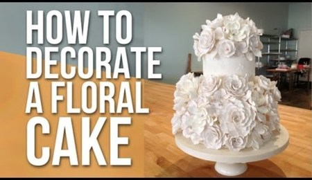 How to Decorate a White Floral Cake with Anna Ellison