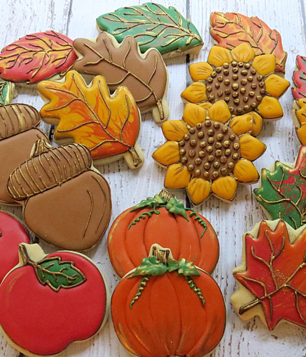 Autumn Cookie Tutorials