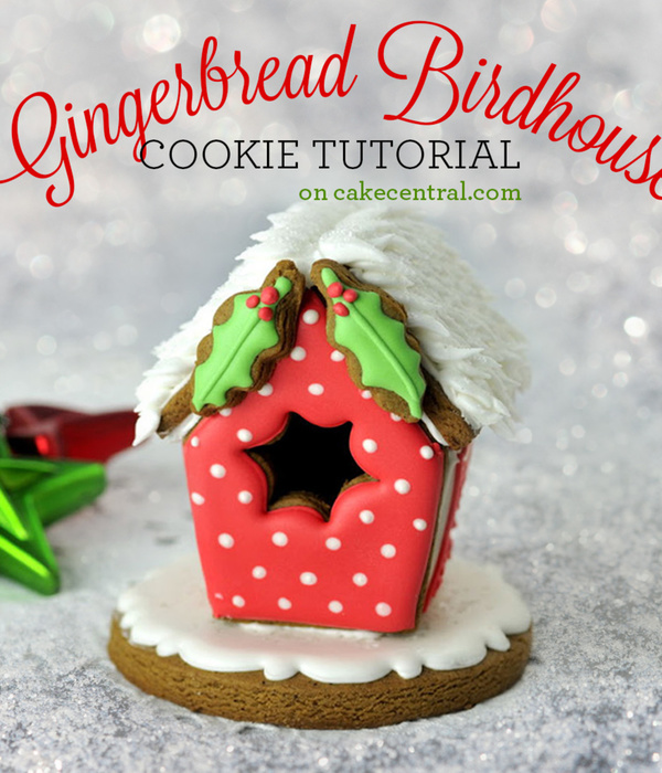 Gingerbread Birdhouse Tutorial